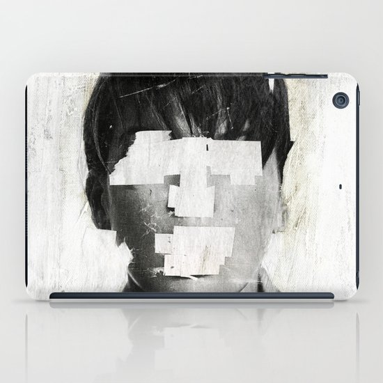 Faceless | number 02 iPad Case