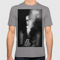 00000 Mens Fitted Tee Tri-Grey SMALL