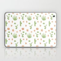 Cacti Pattern Green/Oran… Laptop & iPad Skin
