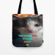 Sophia The Cat # 4 [Tex'… Tote Bag