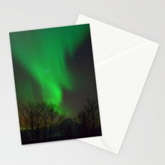 Northern Lights over Norway Stationery Cards