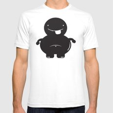 FF JONES SMALL White Mens Fitted Tee