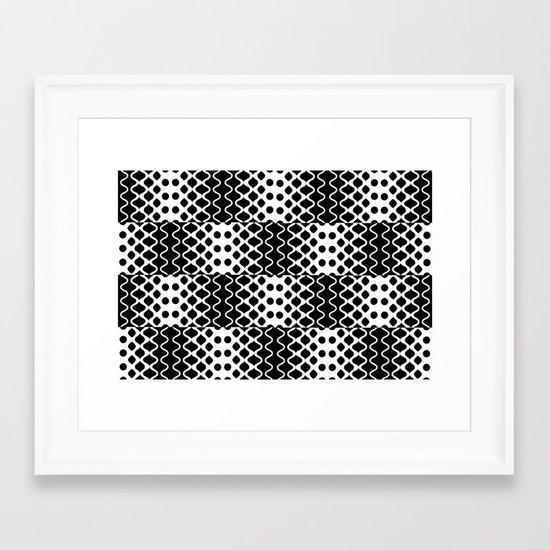 Light Waves Framed Art Print