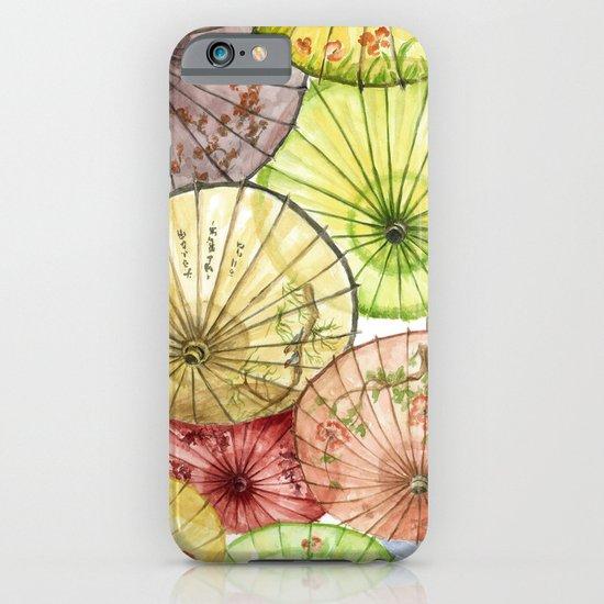 Paper Umbrellas iPhone & iPod Case