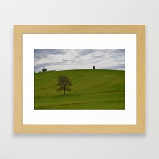 Big Empty Framed Art Print