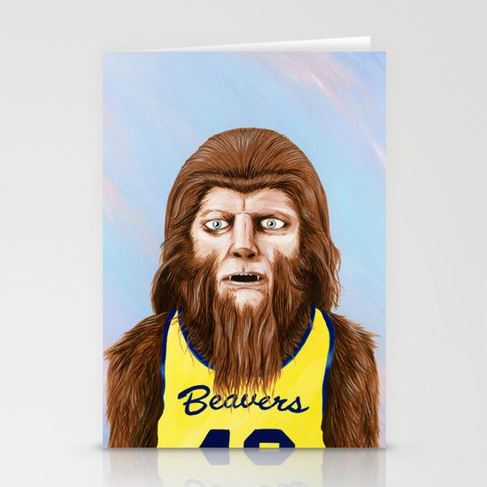 Teenwolf Stationery Card