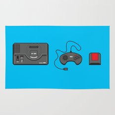 #39 Sega Megadrive Rug