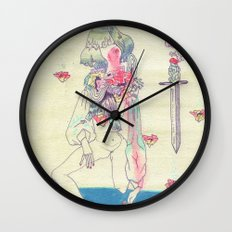 GENDER WARRIOR Wall Clock