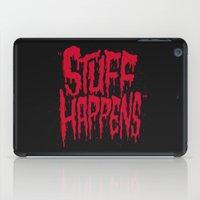 Stuff Happens iPad Case