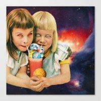 Exoplanet Cocktail Canvas Print