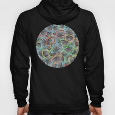COLORFUL FLORAL VINTAGE COLLAGE Hoody