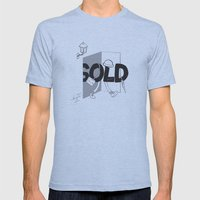 Sold Out Mens Fitted Tee Athletic Blue SMALL