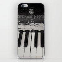 Night Music iPhone & iPod Skin