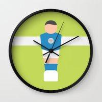 #79 Foosball Wall Clock