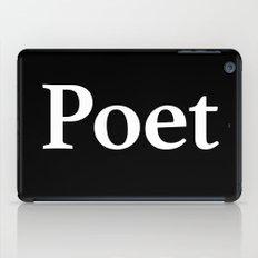 Poet inverse iPad Case