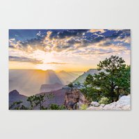 Grand morning Arizona! Canvas Print