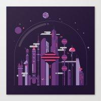 World Of Tomorrow Canvas Print