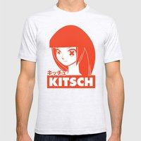 Kitsch Mens Fitted Tee Ash Grey SMALL