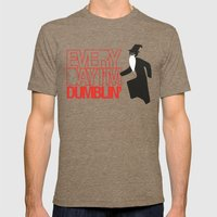 Every Day I'm Dumblin' Mens Fitted Tee Tri-Coffee SMALL