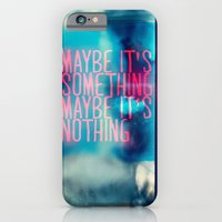 iPhone & iPod Case featuring IT'S SOMETHING by Adar Nisinboim