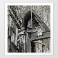 English Gothic Art Print