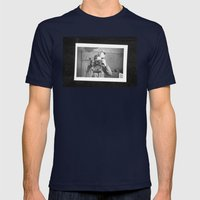 Look Mens Fitted Tee Navy SMALL