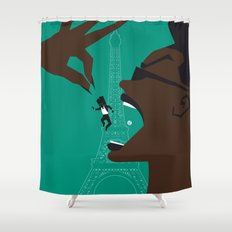 A VIEW TO A KILL Shower Curtain