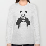 Long Sleeve T-shirt featuring All You Need Is Love by Balazs Solti