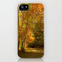 iPhone Cases featuring Take A Stroll by Kathleen Sartoris