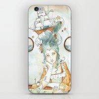 Pirate Princess iPhone & iPod Skin