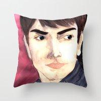Grimm - Nick Burkhart Throw Pillow