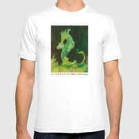 Sea Dragon Mens Fitted Tee White SMALL