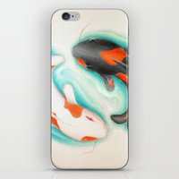 Coy Fish (Yin & Yang) iPhone & iPod Skin