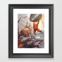 There Goes The Neighborh… Framed Art Print