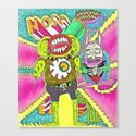 House Beatz Canvas Print