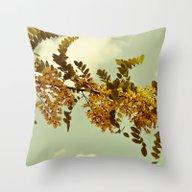 Nature Vintage Throw Pillow