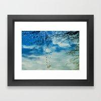 WATER JEWELS Framed Art Print
