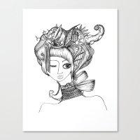 Modern Day Geisha Canvas Print