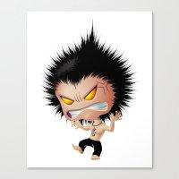 Mr. Zhong: Mad Canvas Print