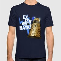 Dalek Mens Fitted Tee Navy SMALL