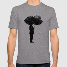 My Life Is A Storm Mens Fitted Tee Tri-Grey SMALL