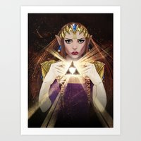 A Light Though the Dark Art Print