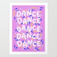 Dance Dance Dance Art Print