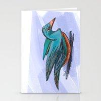 Foolish Bird Stationery Cards