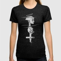 Holy Womens Fitted Tee Tri-Black SMALL