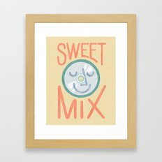 Sweet Mix Framed Art Print