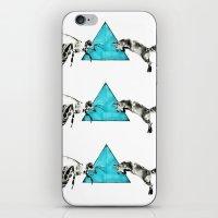 Headlock, wasp and fox iPhone & iPod Skin