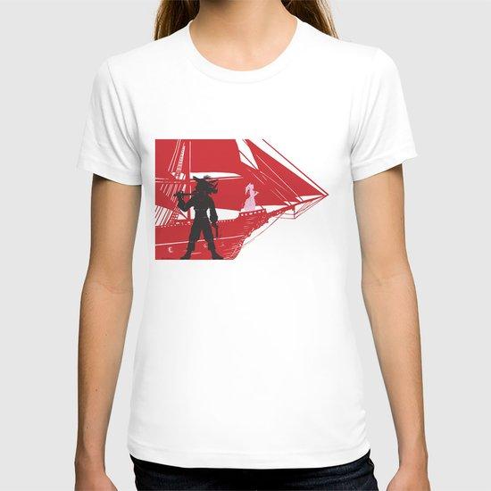 a piratical diversion T-shirt