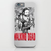 walking dead iPhone & iPod Cases featuring Walking Dead by Matt Fontaine