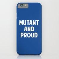 X-Men - Mutant And Proud iPhone 6 Slim Case